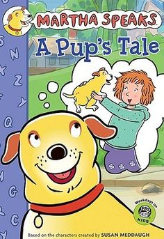 """D likes the series """"Martha Speaks."""" He can read the early readers himself and loves having the chapter books read to him. Martha Speaks, Kids Chapter Books, Word Challenge, Puppy Day, Pbs Kids, Early Readers, Animal Books, Reading Levels, Used Books"""