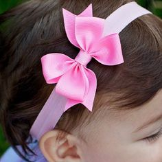 Baby Headband / Newborn Baby Shower Gift / Pink Baby Headband / Pinwheel Headband / Gifts for Baby / Set of 8 / Newborn Bow / colors Baby Headband / Newborn Baby Shower Gift / Pink Baby Headband / Pinwheel Headband / Gifts for Baby / Diy Baby Headbands, Baby Hair Bows, Diy Headband, Pinwheel Bow, Newborn Bows, Diy Accessoires, Hair Bow Tutorial, Boutique Bows, Girls Bows