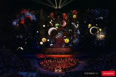 So feierte Moskau zum vierten Mal das Festival Circle of Light | The Creators Project