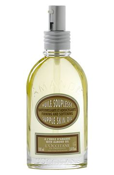 LOccitane Almond Supple Skin Oil   Nordstrom I LOVE this oil and use it twice daily! Smells and feels amazing!
