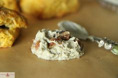Pumpkin Sage Biscuits with Fig Blue Cheese Butter