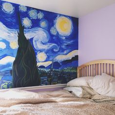 LITERAL GOALS I WILL GIVE YOU A JAR OF HONEY AND A KISS IF U PAINT ME THIS ON MY WALL