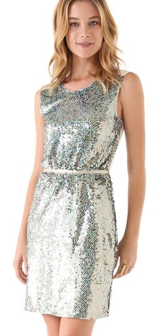 Find of the Day: ERIN FETHERSTON SEQUIN SHEATH DRESS