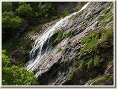 Wicklow Mountains - Powerscourt Waterfall(Leinster, Ireland)