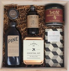 The Groomsman Gift Box - great for the best man too.
