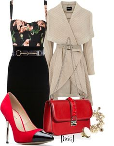 """""""Taking a Stroll"""" by dimij on Polyvore"""