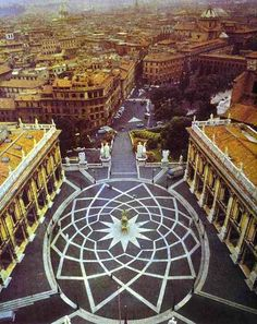 Building - The campidoglio Location - Rome, Italy Date - 1536 - Architect - Michelangelo / http://www.cittadinixroma.it/?tag=gianni-alemanno