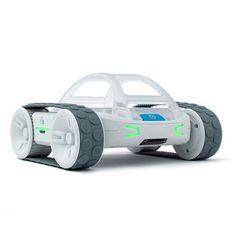RVR is Sphero's all-terrain, customizable, & programmable robot car. Code with it, build on it, & hack the robot of your dreams. Where will RVR take you? Programmable Robot, Start Coding, Mobile Robot, Educational Robots, Electronic Kits, Play Based Learning, Roll Cage, Learning Environments, Level Up