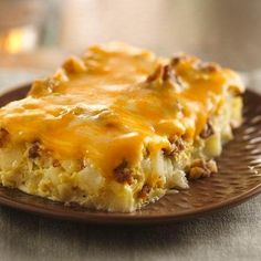 Overnight Tex Mex  Egg Bake