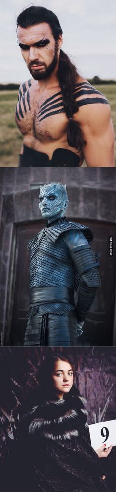 Game of Thrones cosplay by Russian fans - Khal Drogoooo....