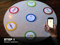 Brand Table concept uses NFC To Take Your Order