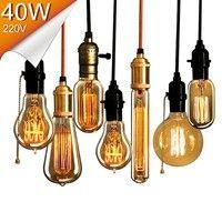 Edison Bulb E27 40w 220v St64 G80 G95 G125 Retro Lamp Vintage Light Bulb Incandescent Bulb Edison Lamp Pendant Light Wish In 2020 Vintage Edison Bulbs Edison Light Bulbs Light Bulb