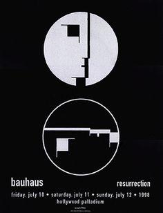GigPosters.com - Bauhaus - Resurrection