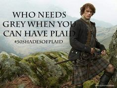 Outlander 50 Shades of Plaid