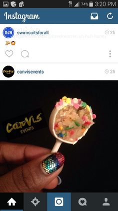 Instagram Canvisevents,  yum!
