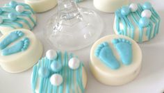 Cookies and Milk Birthday Party Baby Shower ideas via KarasPartyIdeas.com #milkandcookies #babyboyshower #partyideas #decor (13)