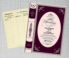 How To Have The Best Literary Wedding Ever - CUTEST wedding ideas for bibliophiles!
