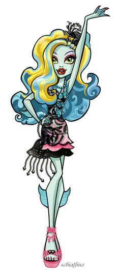 this is Lagoona Blue she is my twin even though we do not look alike,but i am a fairytale and she is a monster so we had to go to different high schools so we hext each other a lot (I know she is from monster high but we love each other so please don't tell the headmaster!!!!)