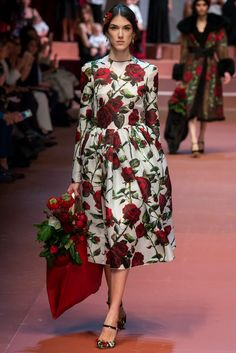 Cool Chic Style Fashion: Fashion Runway | Dolce and Gabbana Collections Fall Winter 2015-16 - Celebrated Moms