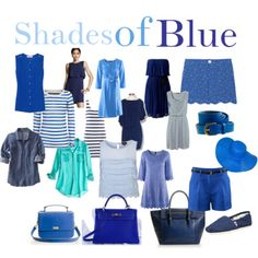 shades of blue