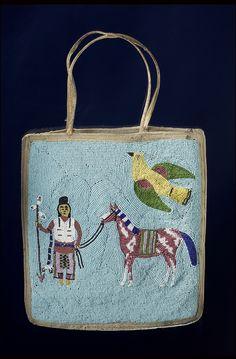Umatilla Handbag/Purse. Date created:1900-1930, Oregon; USA
