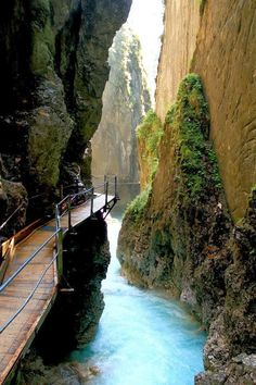 Germany Travel Inspiration - Thermal Waterfall Spa, Mittenwald, Germany