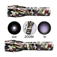 Really Redneck CAMO T6 1000LM 5Mode SOS Zoomable Flashlight Torch