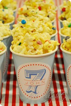 Birthday Cake Popcorn Parties Ideas Snacks Fun