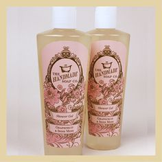 Grapefruit & Irish Moss shower gel is particularly suited for morning showers, awakening the senses when it is most needed! All ingredients are completely natural, therefore there are no chemicals which dry out the skin. €6.95 (£5.78) #shower #soap #handmade #natural