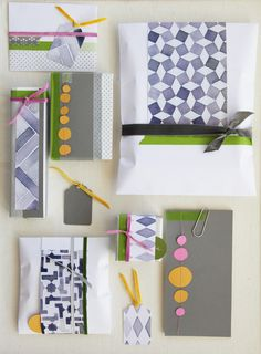 love this gift wrap!