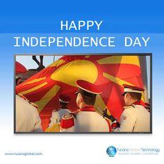 Happy #IndependenceDay in The Former #Yugoslav Republic of #Macedonia