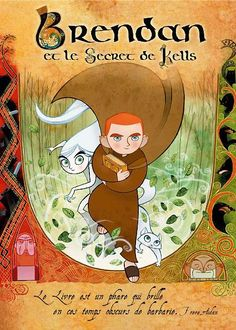 The Secret of Kells (original title) or Brendan and the Secret of Kells is an Irish/Belgian/French co-production directed by Tomm Moore at Cartoon Saloon, the studio behind Skunk Fu! A fictionalized version of the history of the Book of Kells, … Streaming Movies, Hd Movies, Movies Online, Movies And Tv Shows, Movie Tv, The Secret Of Kells, Book Of Kells, Das Geheimnis Von Kells, Brendan Gleeson