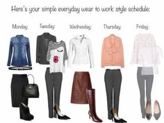 Simple Everyday Wear to Work Styles - Just Set It and Forget It - YouTube