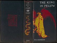 An early edition of The King in Yellow, from 1895, an influence on hit HBO show True Detective.