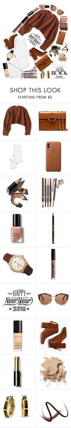 """Boom Boom Brown 🔶"" by yuree ❤ liked on Polyvore featuring Urban Decay, Uniqlo, Tory Burch, Bobbi Brown Cosmetics, Etude House, Rimmel, Longines, NYX, Cricut and Marni"
