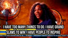 When Serena Williams didn't have time to be petty.