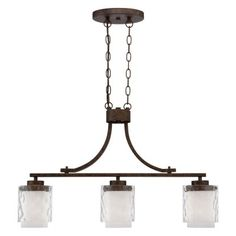 Craftmade Kenswick 35473-PR Kitchen Island / Billiard Light