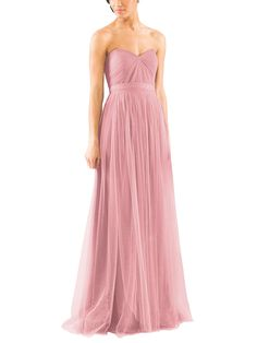 Take a look at this gorgeous Jenny Yoo Annabelle Convertible bridesmaid dress in soft pink fabric! Available in sizes and tons of colors at Brideside. Shop online, try at home or visit one of our showrooms! Ombre Bridesmaid Dresses, Blue Bridesmaids, Wedding Dresses, Prom Gowns, Party Dresses, Strapless Dress Formal, Safety Pins, Convertible, Wedding Ideas