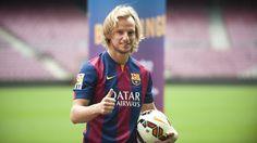 Rakitic, al Camp Nou i al vestidor