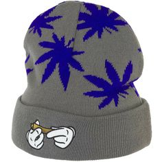 Cayler & Sons Beanie Haze grey/purple ★★★★★