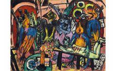 £36,005,000 Max Beckmann 1884-1950 Hölle der Vögel (1937-1938)