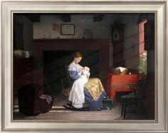 Mother and Child, 1881 Giclee Print by Jean Béraud at Art.com