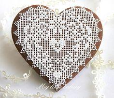 Big heart cookie