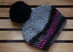 SALE Beanie with Pom Pom