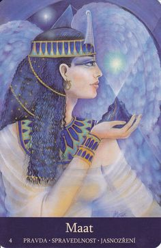 Egyptian Goddess Maat - Combating Discrimination / Getting even / Justices / Truth / Wisdom