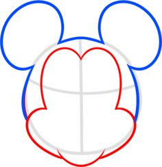 Mickey Mouse Drawing Pictures Az Coloring Pages Sketch Coloring Page