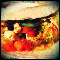 Camping Delights: Lime Chicken Soft Tacos