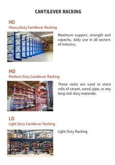 Cantilever Racks, Shelving Racks, Shelves