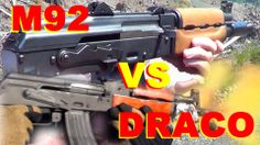 Romanian Draco vs Zastava M92 Pap - AK pistol showdown