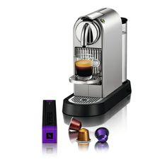 Nespresso CitiZ Silver Chrome Espresso Maker (Refurbished) | Overstock.com Shopping - The Best Deals on Espresso Machines